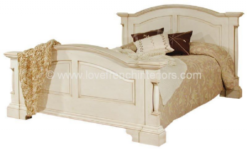 Roseline Panelled Double Bed